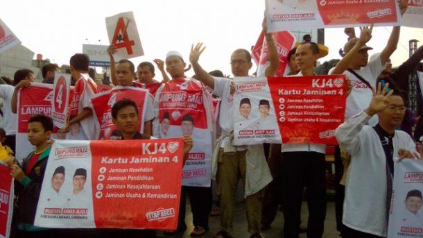 PILGUB LAMPUNG: Mufti Salim Yakinkan KJ4 Solusi Buat Masyarakat Lampung