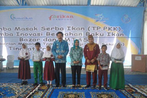 Pemprov Lampung Dorong Inovasi Menu Olahan Ikan