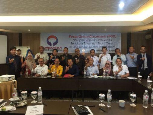 Ombudsman Lampung Dorong Perbaikan Pelayanan Sengketa dan Blokir Tanah
