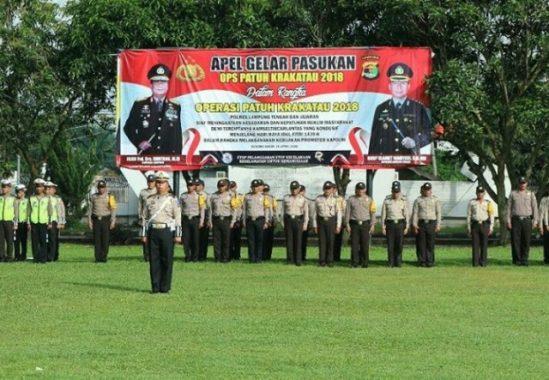 Polres Lampung Tengah Siap Gelar Operasi Patuh Krakatau