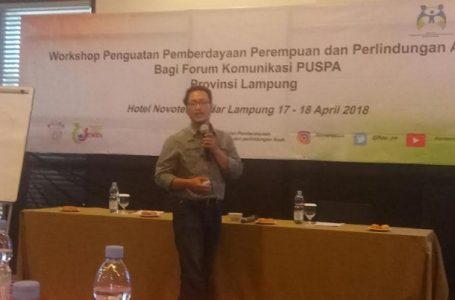 Kajian PUSPA Lampung Bahas Isu Hambatan Advokasi Perempuan dan Anak