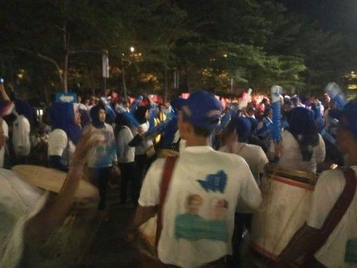 PILGUB LAMPUNG: Tabuhan Gendang Relawan Ridho-Bachtiar Semarakkan Pembukaan Debat Kandidat