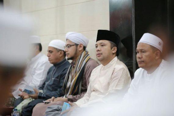 Bupati Pesawaran Dendi Ramadhona Hadiri Pisah Sambut Danlanal Lampung