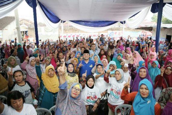 PILGUB LAMPUNG: Warga Labuhanratu Bandar Lampung Ungkap Keberhasilan Ridho