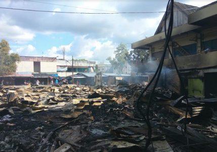 Pedagang Minta Pemkot Bangun Kembali 93 Kios Yang Terbakar, dan Pinjaman Modal Usaha