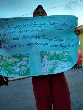 Hari Bumi, Ini Sikap Solidaritas Perempuan Sebay Lampung