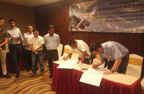 WCS Indonesia Bidani Deklarasi Bersama Cegah Deforestasi Akibat Budidaya Kopi di TNBBS