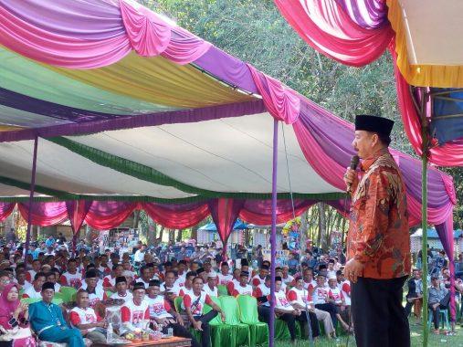 PILGUB LAMPUNG: Jadi Gubernur, Herman HN Janji Benahi Pendidikan di Tulangbawang