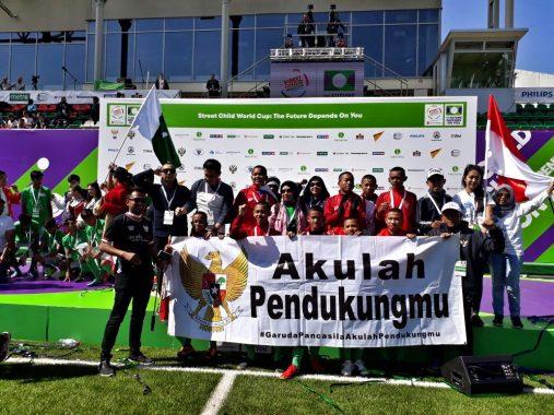 Wakil Indonesia Masuk Semifinal Piala Dunia Anak Jalanan 2018 di Rusia