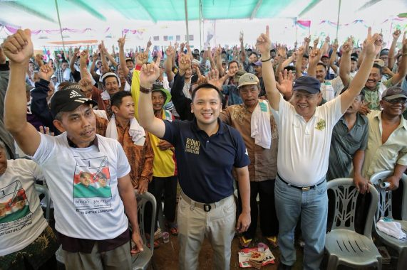 PILGUB LAMPUNG: Sahabat Herman HN Galang Dukungan Warga Tanggamus
