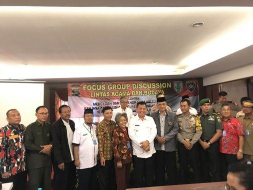Tangkal Radikalisme, Polresta dan FKUB Bandar Lampung Gelar FGD
