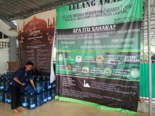 Pasar Way Halim Penuh Sesak Jelang Buka Puasa