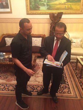 Tenaga Ahli Gubernur Lampung Mahir Bayasut Promosi di Moscow-Rusia