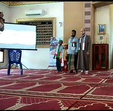ACT Lampung Gelar Tausiyah Ramadan di Masjid Al Muslimin Pahoman, Syekh Palestina Yahya Alnajjar Dihadirkan