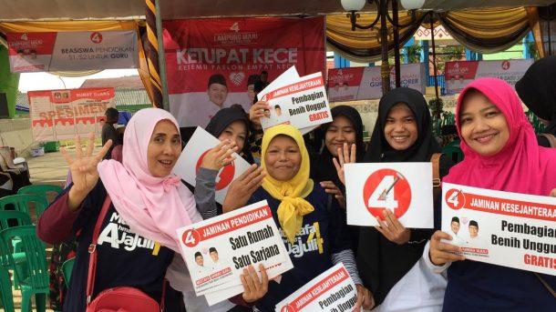 PILGUB LAMPUNG: Hari Ini Ahmad Jajuli Kampanye di Rest Area Gisting, Warga Berbondong-Bondong Datang