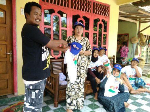 PILGUB LAMPUNG: Relawan Garuda Tulangbawang Barat Semangat Sosialisasikan Ridho Ficardo-Bachtiar Basri