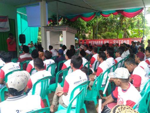 PILGUB LAMPUNG: Sahabat Herman HN Konsolidasi di Lamsel