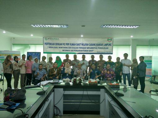 BPJS Kesehatan Bandar Lampung Gelar Evaluasi Pengelolaan Informasi