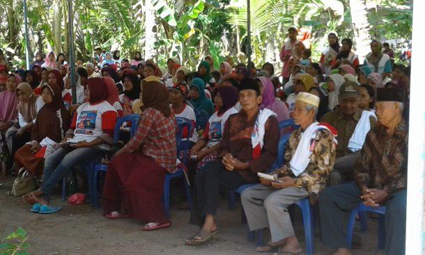 PILKADA TANGGAMUS: Masyarakat Tanjungagung-Kotaagung Barat Antusias Sambut Calon Bupati Nomor Urut 1 Dewi Handajani