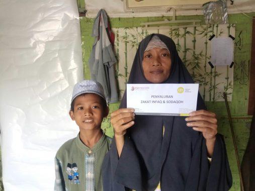 IZI LAMPUNG BERBAGI: Suparni Buruh Cuci Ingin Sekolahkan Anak Hingga Negeri Para Mumi