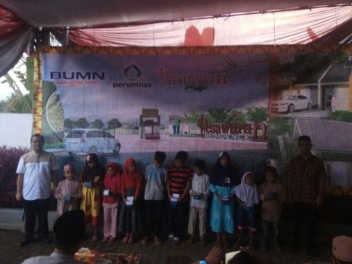 Perumnas Bandar Lampung Buka Bersama Anak Yatim