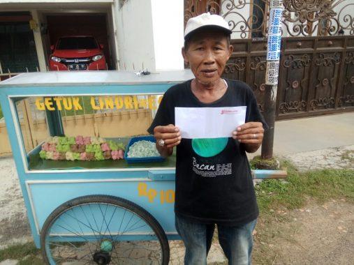 PUASA DUAFA: Pak Trimo Penjual Getuk Lindri Ingin Lebaran di Kampung Halaman