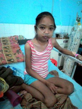 ACT Lampung Galang Donasi Bantu Sopiana, Penderita Liver 25 Tahun Berat 25 Kg