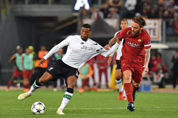 LIGA CHAMPIONS 2018: Kalah dari Roma, Liverpool ke Final
