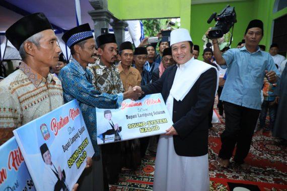 Safari Ramadan ke Palas dan Sragi, Ini Bantuan yang Dibagikan Zainudin Hasan