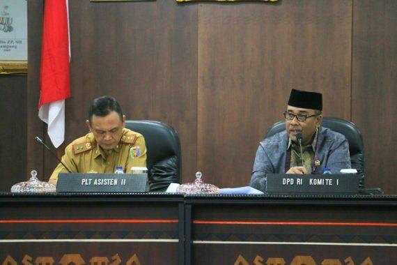 Wali Kota Bandar Lampung Herman HN Hadiri Paripurna DPRD