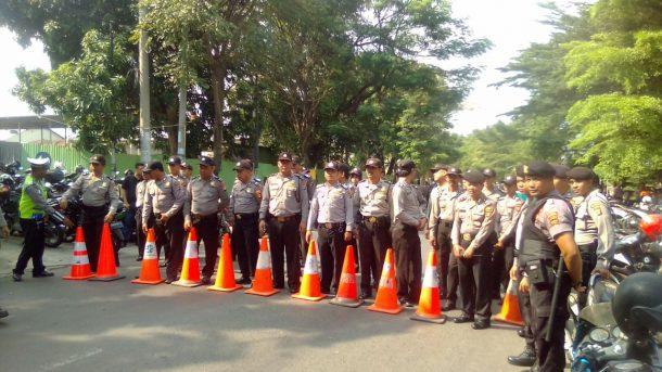 KPUD Gelar Pleno Pilgub Lampung, Jalan Depan Hotel Novotel Ditutup Sementara