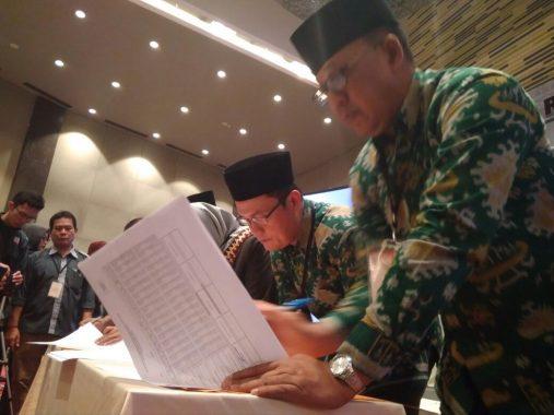 KPUD Lampung Pleno Pilgub, Arinal-Nunik Teratas dengan 1,5 Juta Suara Pemilih