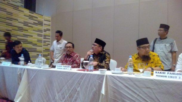Pleno Pilgub Lampung, Saksi Ridho-Bachtiar dan Herman HN-Sutono Tak Mau Teken