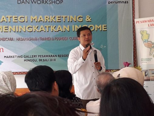 Perumnas Bandar Lampung Ajak Warga Jadi Agen Marketing Pesawaran Residence dengan Bonus Menarik