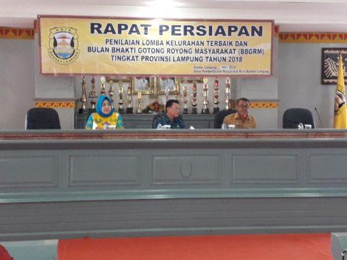 Kelurahan Kotasepang Persiapkan Diri Jadi yang Terbaik di Lampung