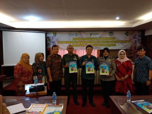 Dinas Kesehatan Bandar Lampung Ajak Orangtua Dampingi Anak Imunisasi Campak