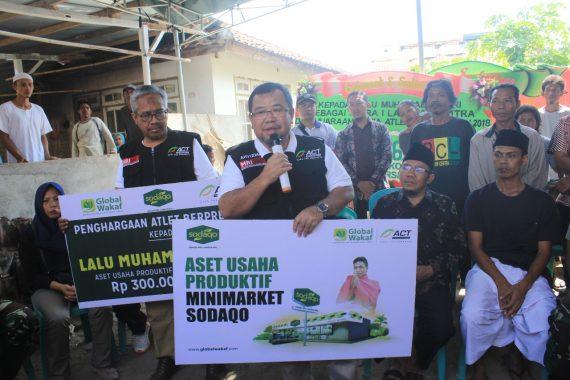 Apresiasi Zohri, ACT Berikan Minimarket Sodaqo