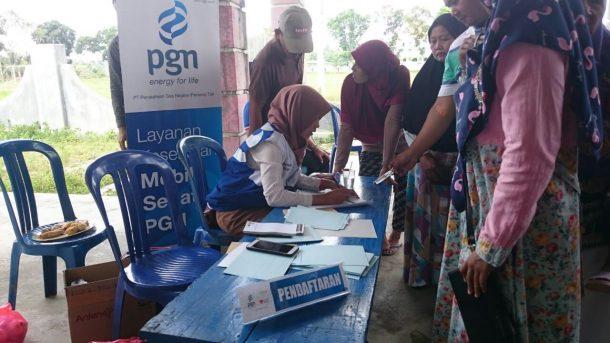 PGN Lampung Luncurkan Program Mobil Sehat di Desa Braja Asri