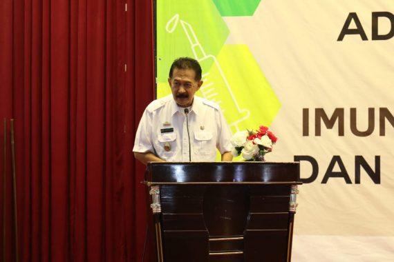 Pemprov Lampung Tekad Eliminasi Campak dan Rubella