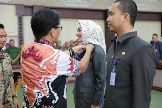 Pj Sekda Lampung Tutup Diklat Kepemimpinan