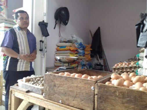 Telur Ayam di Pasar Way Halim Rp27 Ribu/Kg, Pedagang Akui Tertinggi Sejak 10 Tahun Berdagang