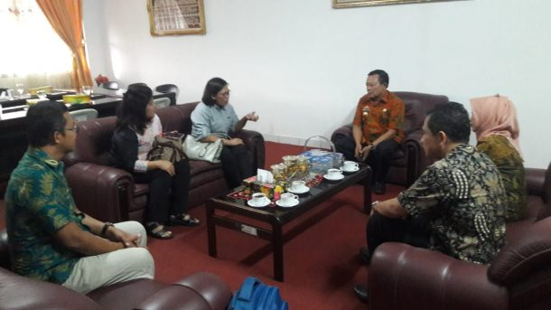 Kadis Sosial Lampung Terima Kunjungan UNICEF