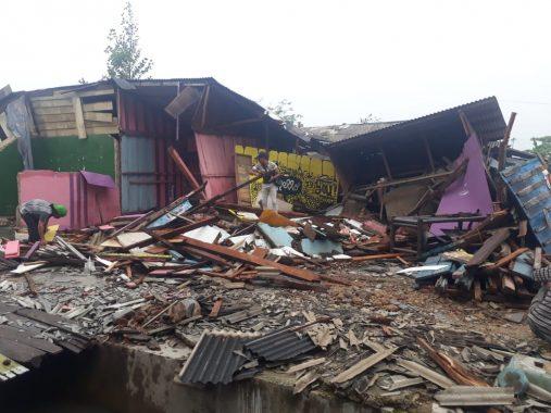 Naposo Silahisabungan Galang Dana bagi Korban Penggusuran Pasar Griya Sukarame