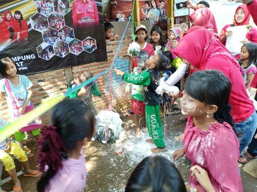 Laskar Perempuan Berdikari Lampung Meriahkan Hari Anak