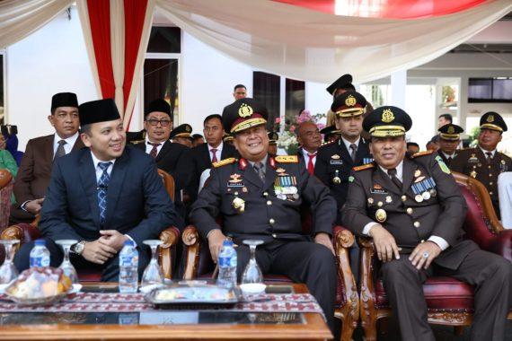 Gubernur Lampung Ridho Ficardo Hadiri Hari Bhakti Adhyaksa