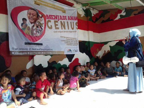 ACT Lampung Meriahkan Hari Anak Nasional
