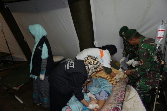 Gempa 7,0 Skala Richter Landa Lombok, Tim ACT Siaga Penuh
