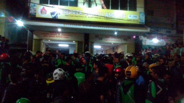 Polisi Tangkap Satu Terduga Penganiaya Pengemudi Gojek di Geprek Bensu