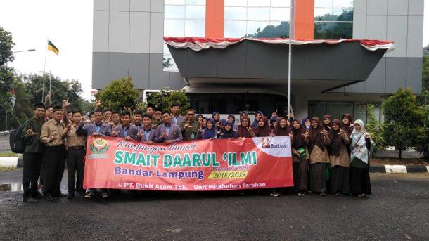 SMA IT Daarul Ilmi Kunjungan Ilmiah ke PT Bukit Asam