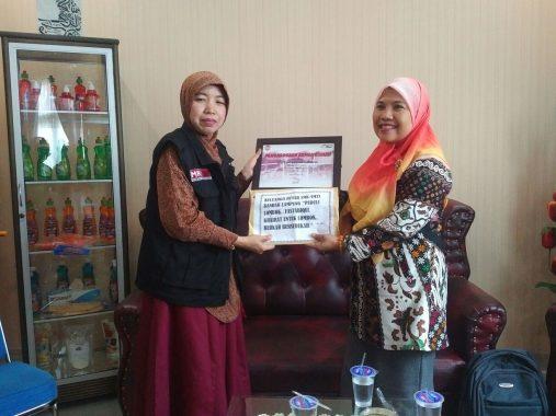 Keluarga Besar SMK SMTI Bandar Lampung Salurkan Donasi Korban Gempa Lombok ke ACT Lampung